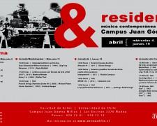 Flyer residencia & abril 2012